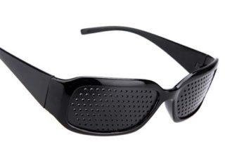 Óculos Furadinho Auxilia na Melhora do Foco da Visão